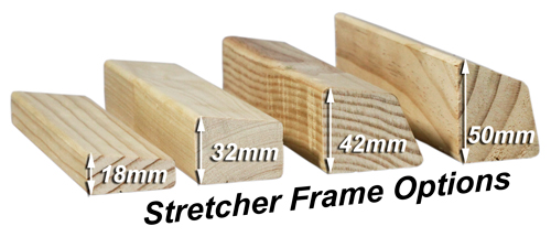 Stretcher Frame Options